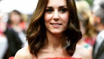 Kate Middleton stuns in beautiful red off the shoulder top