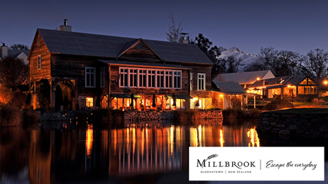 Win A Mid-Winter Escape To Millbrook Resort in Queenstown!