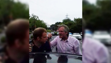 BBC producer caught in a display of road rage