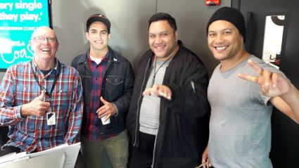 Modern Maori Quartet Tour Announcement.