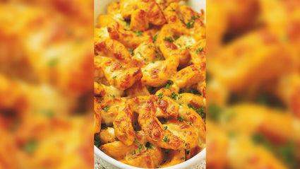 Allyson Gofton - Pumpkin gnocchi with mozzarella