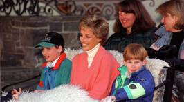 Diana's most iconic family moments
