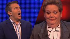 Bradley Walsh and Anne Hegerty clash over biscuits on 'The Chase'