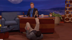 Watch Luke Wilson's hilarious impression of millennials at the airport on Conan