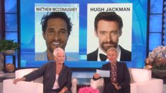 Watch Dame Judi Dench play 'Who'd you rather?' with Ellen