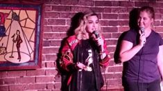 Madonna joins Amy Schumer on stage for an impromptu comedy performance