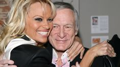 Pamela Anderson's heartfelt tribute to the late Hugh Hefner