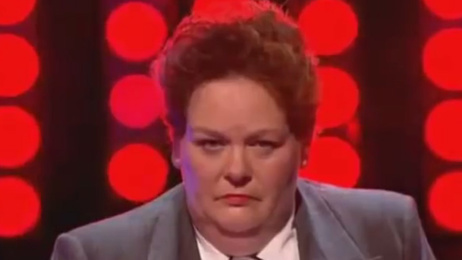 Watch Anne Hegerty's hilarious impression of Oasis' Liam Gallagher