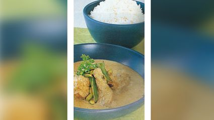 Allyson Gofton - Pistachio Nut and Chicken Curry