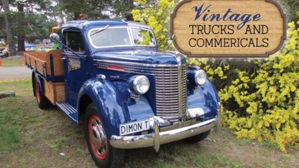 Vintage Trucks and Commercials by Steve Reid.