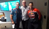 Australian Supercar Stars Craig Lowndes and Jamie Whincup chat with Brian Kelly.