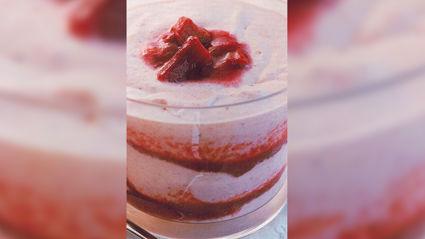 Allyson Gofton - Rhubarb, strawberry and rosewater fool