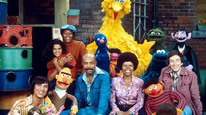 The very first episode of Sesame Street