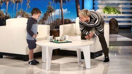 Ellen's tiny geography genius returns