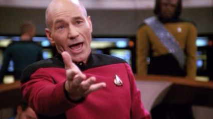Jean-Luc Picard: Make It So (Xmas version)