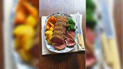 Allyson Gofton - Slow roast fillet of beef