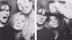 Rachel Hunter shares adorable photobooth snaps with her children