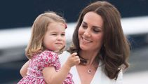 Princess Charlotte's first day