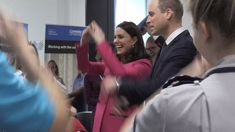 Watch Kate & Will get their boogie on with paramedics at a University