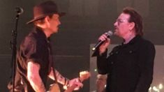 Bono & Johnny Depp's emotional tribute to Dolores O'Riordan from The Cranberries