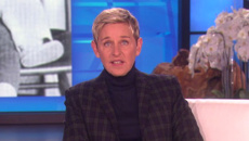 Ellen's emotional tribute to her late father