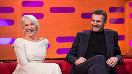 Liam Neeson & Dame Helen Mirren open up about their relationship