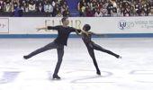 Sound of Silence: stunning ice skating display