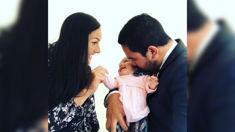 Valerie Adams shares a beautiful family photo with little Kimoana