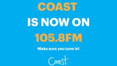 Coast is now here in the Manawatu on 105.8 FM!