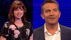 Bradley Walsh catches up with another former Coronation Street star on The Chase