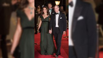 Kate's controversial dress