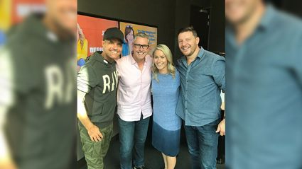 Jason & Bernadine catch up with Pete & Manu ahead of the new MKR season