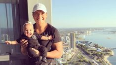 Valerie's adorable snaps from the Gold Coast with her daughter