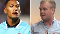 Matty McLean calls calls out 'disgusting' Israel Folau and his homophobic comments