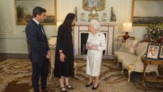 Jacinda meets the Queen