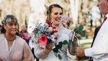 Bride's D.I.Y bouquet