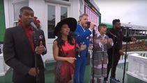 Pentatonix's national anthem performance