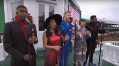 Watch Pentatonix's amazing performance of the national anthem