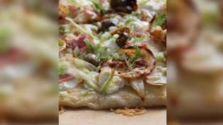 Allyson Gofton - Buffalo Mozzarella Cheese and Fennel Pizza