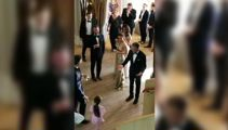 The royal wedding reception