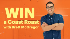 Win a Coast Roast with Brett McGregor