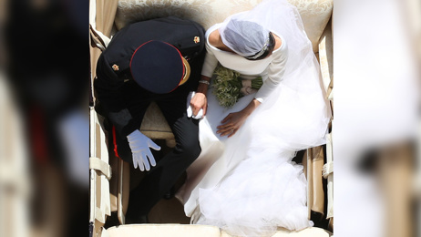 The Royal Wedding photo that people are calling 'The view of Princess Diana' and the story behind it