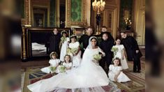 The official royal wedding photographer has revealed his secret trick to get all 10 kids to behave