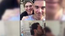 Robbie convinces fan to propose