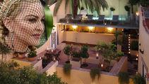 Inside Madonna's mansion