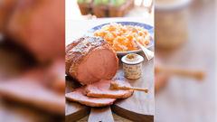 Allyson Gofton - Honey-glazed corned beef