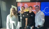 Jason and Bernadine chat to Damian Mackenzie and Ngani Laumape