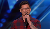 An incredible moment on America's Got Talent for this father of six