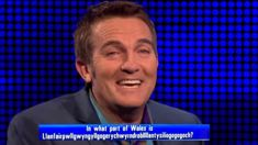 Watch Bradley Walsh's hilarious attempts at pronouncing a very difficult Welsh name