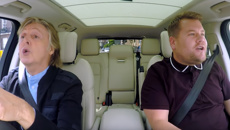 Watch James Cordon's hilarious Carpool Karaoke episode with Paul McCartney